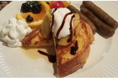 Good Morning! Recipe Blog: Stuffed French Toast with Sauteed Apples