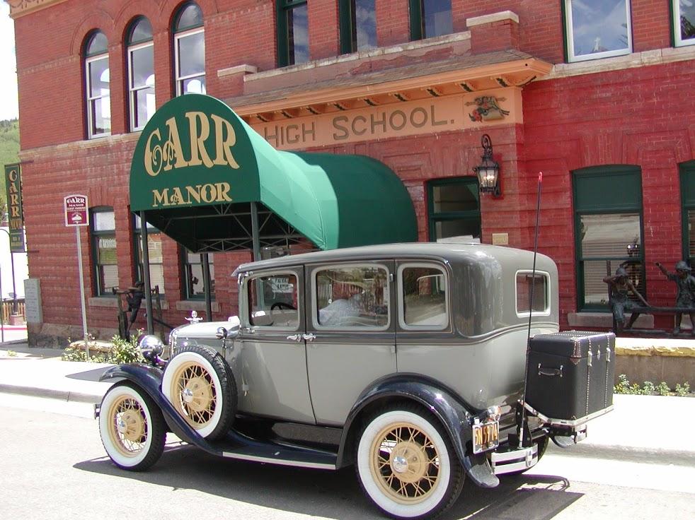 Carr Manor School Old Car - Bed & breakfasts & inns of Colorado Association