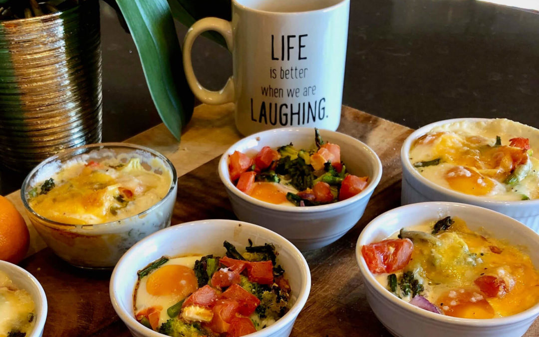 Good Morning! Recipe Blog: Shirred Eggs