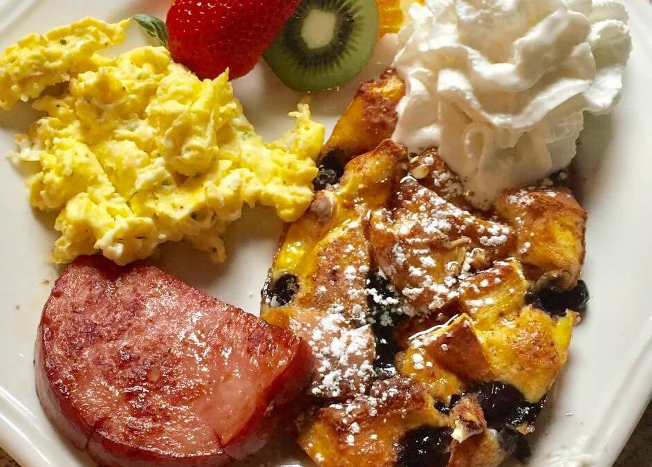 Good Morning! Recipe Blog: Lemony Blueberry Baked French Toast