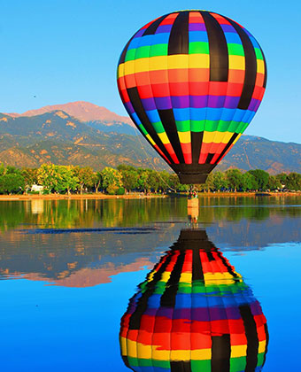 Hot Air Balloon - Bed & breakfasts & inns of Colorado Association
