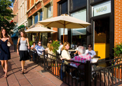 Afternoon Walk Past Diners - Bed & breakfasts & inns of Colorado Association